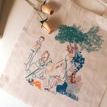Vertumno y Pomona. Un proyecto de Diseño, Ilustración e Ilustración textil de Laura Merens Vázquez - 21.02.2020