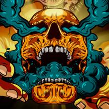 Black Sails   Ilustración Vectorial. Un proyecto de Ilustración, Televisión, Ilustración digital y Concept Art de Nicolás Romero - 22.02.2020