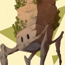Norland Klinyuit / Dibujo de la serie de Norland Fields. Un proyecto de Ilustración e Ilustración digital de Alex Shagu - 23.02.2020