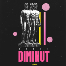 Dirección de arte e ilustración para Cicle DIMINUT. A Design, Illustration, Motion Graphics, Grafikdesign, Collage und Videobearbeitung project by Rachel Demetz - 09.02.2020