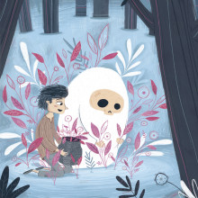 El ahijado de la muerte. A Illustration, Digital illustration, and Children's Illustration project by Julián David Jiménez Ariza - 02.24.2020