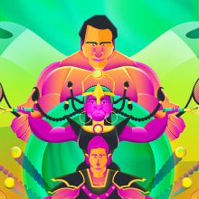 Mi Proyecto del curso: Ilustración geométrica con volumen. A Illustration, Zeichnung und Digitale Illustration project by Jose Soriano Contreras - 25.02.2020