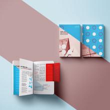 Maquetación de guía - Propuesta. Un proyecto de Dirección de arte, Diseño editorial e Infografía de lucia verdejo - 25.01.2020