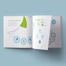 Infografía reporte anualNuevo proyecto. Un proyecto de Diseño editorial, Diseño gráfico, Diseño de la información, Infografía, Ilustración vectorial y Diseño de iconos de lucia verdejo - 07.02.2020