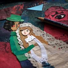 Gioia . Un proyecto de Ilustración, Collage e Ilustración infantil de Estrellita Caracol - 26.02.2020