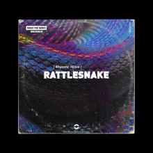 MSR068 Majestic Noise - Rattlesnake. Um projeto de Design, Publicidade, Música e Áudio, Br, ing e Identidade, Design gráfico e Marketing de Jose Antonio Jiménez Macías - 27.02.2020