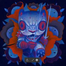 Pinturas Little Miss Jaguar. Um projeto de Ilustração, Pintura e Pintura Acrílica de Charles Glaubitz Gonzalez - 28.02.2020