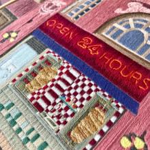 Kebab hand embroidery. Un progetto di Ricamo di Kseniia Guseva - 28.02.2020