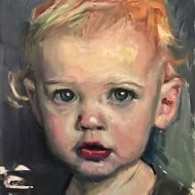 Baby Eliza. A Portrait illustration project by A.J. Alper - 03.01.2020