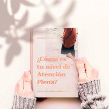 Diseño de test de atención plena. Un projet de Conception éditoriale , et Design graphique de Uxía Arias García - 01.03.2020