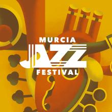 Murcia Jazz Festival 2020. Um projeto de Ilustração, Design gráfico, Design de logotipo e Ilustração digital de ZRVK - 01.03.2020