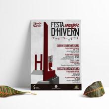 Cartel Festa d'hivern 2020. Um projeto de Design de cartaz de Patricia PHP - 04.03.2020