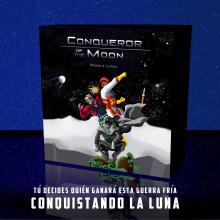 Conqueror of the Moon. Prototipo de juego de cartas basado en la carrera espacial.. Un proyecto de Ilustración, Diseño gráfico y Diseño de producto de Pedro González López - 17.11.2019