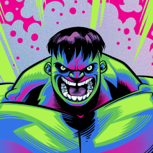 INCREDIBLE HULK . A Illustration, and Comic project by Alex Arizmendi - 03.18.2020