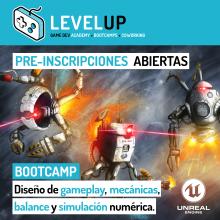 Bootcamp en Game Design, Mecánicas Avanzadas, Balance y Simulación numérica de videojuegos. Un proyecto de 3D, Diseño de producto, Producción, Diseño de videojuegos y Desarrollo de videojuegos de Roger @ Level Up (Game Dev Hub) - 22.03.2020