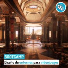 Bootcamp de Entornos 3D para videojuegos. Un proyecto de 3D, Dirección de arte, Paisajismo, Diseño de iluminación, Escenografía, Modelado 3D, Stor, telling, Diseño de videojuegos y Desarrollo de videojuegos de Roger @ Level Up (Game Dev Hub) - 22.03.2020