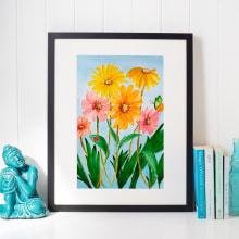 """""""Primavera"""" Mi Proyecto del curso: Creación de paletas de color con acuarela. A Illustration project by Loli Crespo - 03.22.2020"""