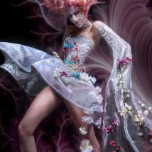 Futurismo Orgánico. Un proyecto de Fotografía, Diseño de personajes, Consultoría creativa, Moda, Diseño de iluminación, Creatividad, Diseño de moda, Diseño de moda, Fotografía de moda, Iluminación fotográfica, Fotografía de estudio, Costura, Fotografía digital, Fotografía artística y Composición fotográfica de Nyx Art - 24.03.2020