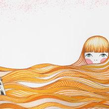 Mi Proyecto del curso: Introducción a la ilustración infantil. A Design, Illustration, and Artistic drawing project by SEÑORITA BICHO - 03.26.2020