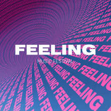 FEELING Music Festival - Short Teaser. A Animation, and 3D Animation project by Thomas Girometti - 03.26.2020