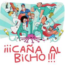 ¡CAÑA AL BICHO!. Un proyecto de Ilustración y Diseño de personajes de Juanma García Escobar - 27.03.2020