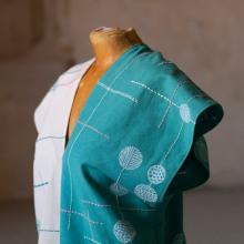 Confección, bordado y estampación.. A Fashion Design, and Embroider project by Candela Nieto - 03.27.2020