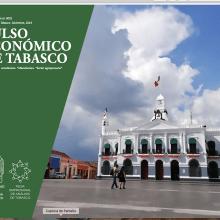 """Boletín económico """"Pulso Económico de Tabasco"""". A Verlagsdesign project by Estefania Castillo - 27.03.2020"""