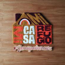 Mi Casa, Mi Refugio. A Crafts, and Embroider project by Caro Bello - 03.25.2020