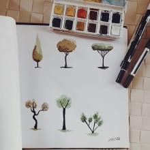 Mi Proyecto del curso: Dibujo para principiantes nivel -1. Un projet de Dessin de Áquila Faré - 29.03.2020