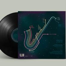 """FREDRIK MOTH FIVE - """"Take the B train"""" 🚂🎷🎶. A Design, Illustration, Musik und Audio, Grafikdesign, Produktdesign und Digitale Zeichnung project by Rubén Jiménez """"EL RUBENCIO"""" - 29.03.2020"""