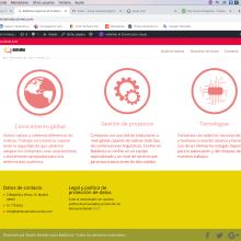 Página Web Babilonia Traducciones. A Web Design project by Lucas F. B - 03.30.2020