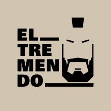 EL__TREMENDO. Un proyecto de Br, ing e Identidad, Diseño de logotipos y Diseño gráfico de Alejandro Mazuelas Kamiruaga - 28.09.2019