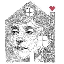 Quedate en casa. Un projet de Illustration de Leonardo Gauna - 03.04.2020