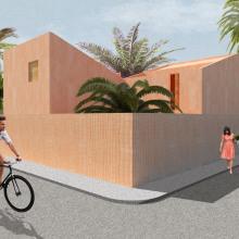 An Andalusian town-house atmosphere. Un proyecto de Arquitectura interior de Balazs Marta - 03.04.2020