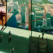 Concept estación . Um projeto de Esboçado, Stor, telling e Concept Art de Daniel Crespo Saavedra - 04.04.2020