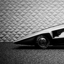 Lancia Stratos Zero. A 3-D-Animation, Kreativität, Beleuchtung für Fotografie, Concept Art und Artistische Fotografie project by Ro Bot - 04.04.2020