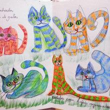 Meu projeto de ilustração - Vera Medeiros. Un proyecto de Ilustración de Vera Elenita Medeiros - 04.04.2020