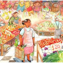 Mi Proyecto del curso: Ilustración en acuarela con influencia japonesa. Um projeto de Design, Ilustração, Artes plásticas, Criatividade, Desenho e Desenho artístico de Jessica Alvarez - 04.04.2020