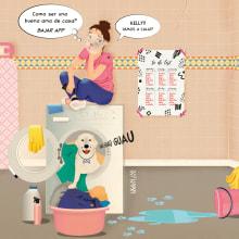 Mi Proyecto del curso: De la idea a la viñeta paso a paso. A Illustration, Graphic Design, and Drawing project by Marta Noguera-Homs - 04.01.2020