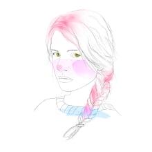 Mis chicas / My girls. Un proyecto de Ilustración digital de Romina Zab - 05.04.2020
