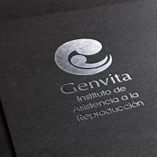 Logo Genvita - Reproductive Medicine Institute. A Br, ing und Identität, Logodesign und Grafikdesign project by Paulina Vitti - 10.03.2017