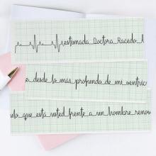 Cuando tu corazón hable de vos, que hable bien. Un proyecto de Diseño tipográfico y Lettering de Caro Marando - 07.04.2020