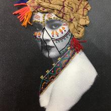 Reina mora <3. A Embroider project by Irene García Garrido - 04.08.2020