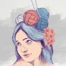 Mi Proyecto del curso: Técnicas de ilustración con acuarela digital. Un proyecto de Dibujo de Adrián Exeni - 08.04.2020