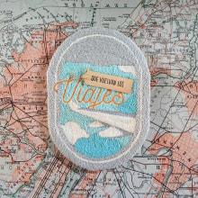 Que vuelvan los viajes. A Crafts, and Embroider project by Caro Bello - 04.08.2020