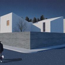 Mi Proyecto del curso: Representación gráfica de proyectos arquitectónicos. Un proyecto de Arquitectura de Daniel Fierro Simental - 10.04.2020