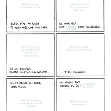 Reto de cómic experimental / diario dibujado de la cuarentena. Um projeto de Ilustração e Desenho de Puño - 13.04.2020