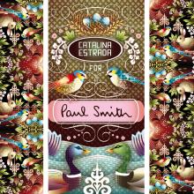 Paul Smith. A Illustration, Vektorillustration, Digitale Illustration und Textile Illustration project by Catalina Estrada Uribe - 17.04.2020