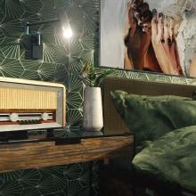 Propuesta habitación de cliente: Tropical Style. A Architecture & Interior Architecture project by Andrés Pintor - 04.13.2020