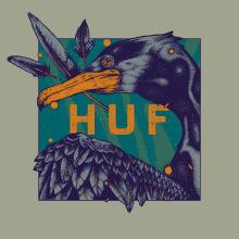 HUF GraphicContent Contest. A Illustration, Grafikdesign, Zeichnung, Realistische Zeichnung und Artistische Zeichnung project by Pedro Pérez Mendoza - 18.04.2020
